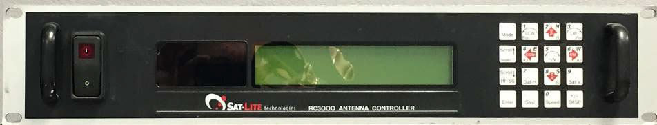 RC3000 850-0053-A front panel