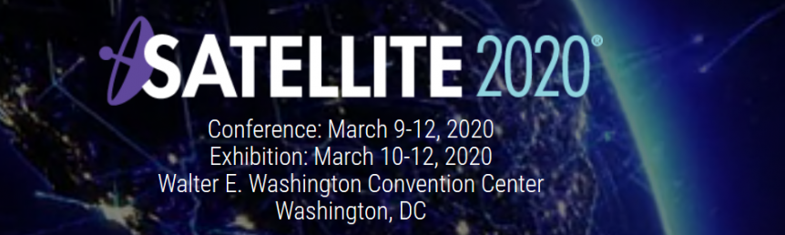 Visit us at Satellite 2020
